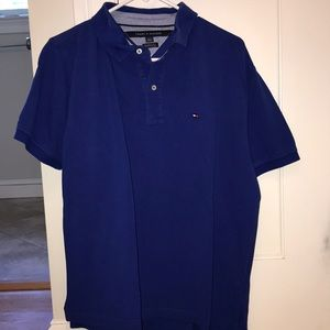 Tommy Hilfiger royal blue polo